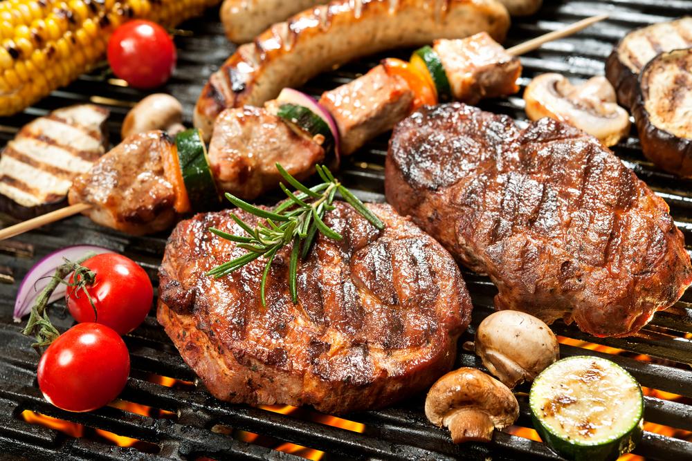 Grilowane przypalone mięso a zdrowie